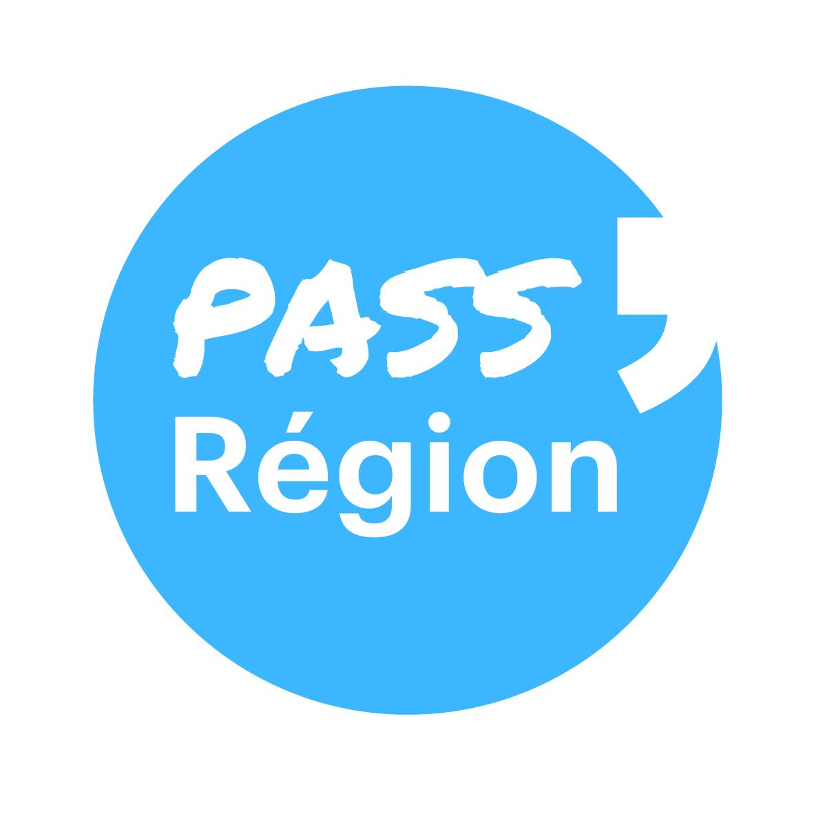 Bloc-marque Pass' Région bleu