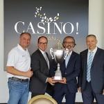 L'équipe du Casino d'Evian